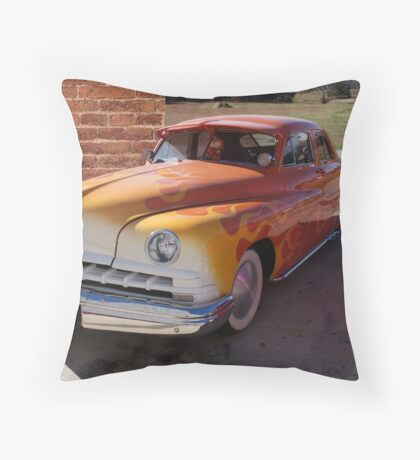 Hot Rod Lincoln Throw Pillow