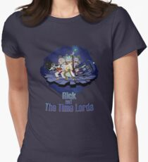 Rick and the Time Lords Womens Fitted T-Shirt