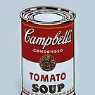 andy worhol campbell's soup by ioanna1987