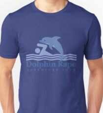 Dolphin Rape Adventure Tours Unisex T-Shirt