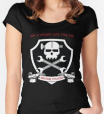 Pirate Life for Me  Women's Fitted Scoop T-Shirt