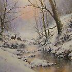 Winter Evening Mist by JoeHush