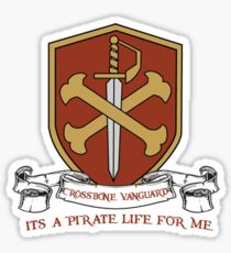 Pirate Life for Me ~ 2 Sticker