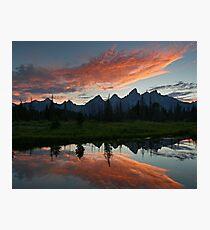 Schwabacher Landing - Grand Teton National Park, Wyoming Photographic Print