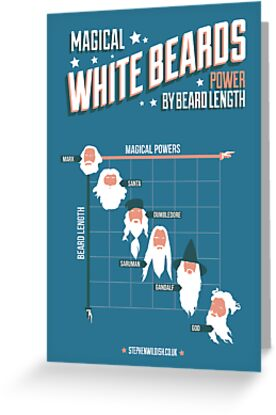 Magical White Beards by Stephen Wildish