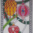 Meditation: Vintage Christmas Ornaments by Susan Genge