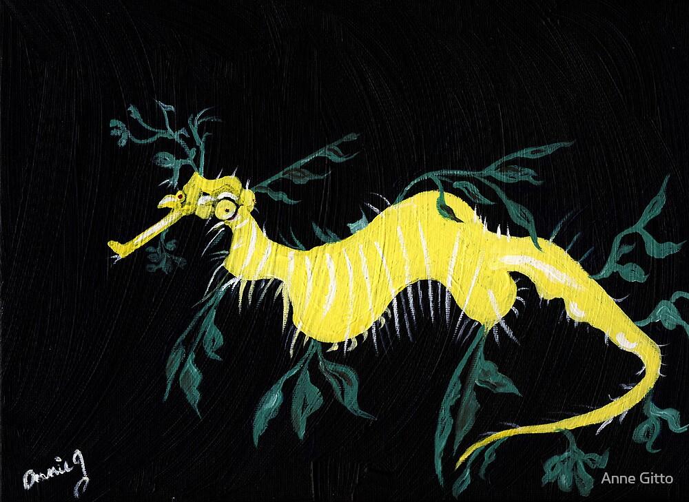 Leafy Sea Dragon by Anne Gitto