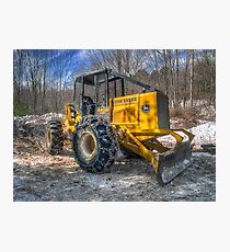 Cable Skidder February 2007 Photographic Print