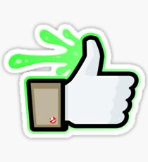 FACEBOOK X GHOSTBUSTERS (GB1 SLIMED) Sticker