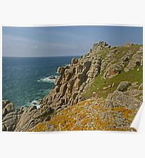 Along the South West Coast Path - I Poster