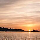 Instow Sunset by John Burtoft