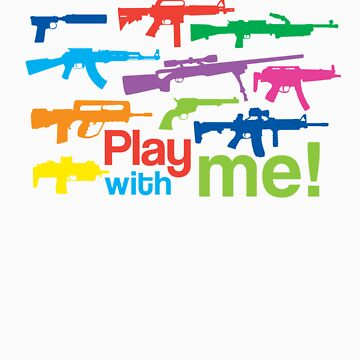 Play with me! - multicolor by Skroll