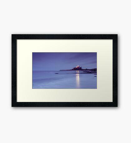 Bamburgh Light Framed Print