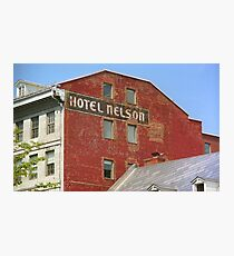 Montreal - Hotel Nelson Photographic Print