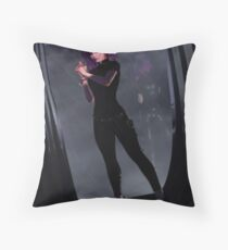 Tantalizing Espionage Throw Pillow