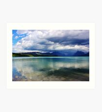Colors of a Montana Day Art Print