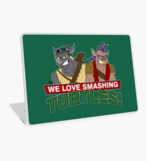 We love smashing Turles! Laptop Skin