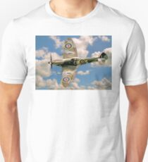 Spitfire LF.XVIe TD248/CR-S G-OXVI Banking T-Shirt