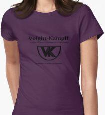 Voight Kampff - VK - Offworld Colonies Womens Fitted T-Shirt