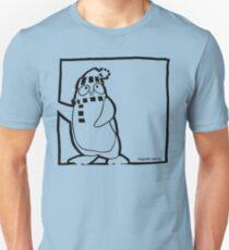 Penguin Black Unisex T-Shirt
