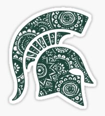 Michigan State Doodle Sticker