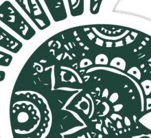Michigan State Doodle Sticker