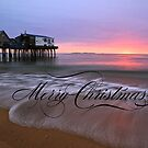 Christmas at the Beach by Sevastra