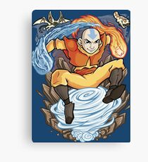 Avatar of the Air Nomads Canvas Print