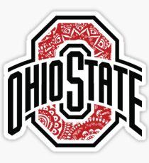 Ohio State Doodle Sticker