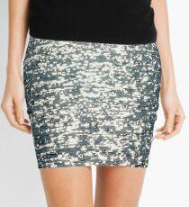 slivery glints Mini Skirt