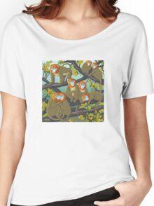 Monkeys Women's Relaxed Fit T-Shirt