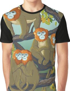 Monkeys T-shirt Graphique
