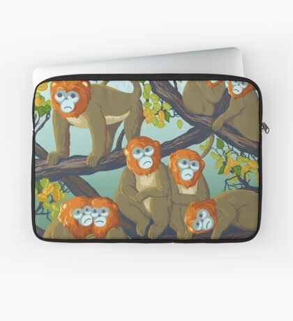 Monkeys Housse de laptop
