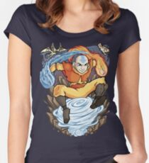 Avatar of the Air Nomads Women's Fitted Scoop T-Shirt
