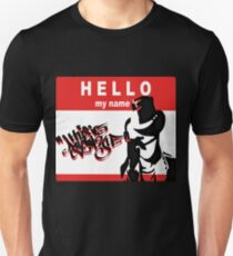 "Hello Q- ""this is my style"" Unisex T-Shirt"