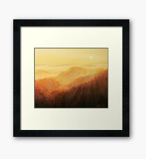 Sun Caress Framed Print