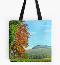 Ingleborough in Autumn Tote Bag