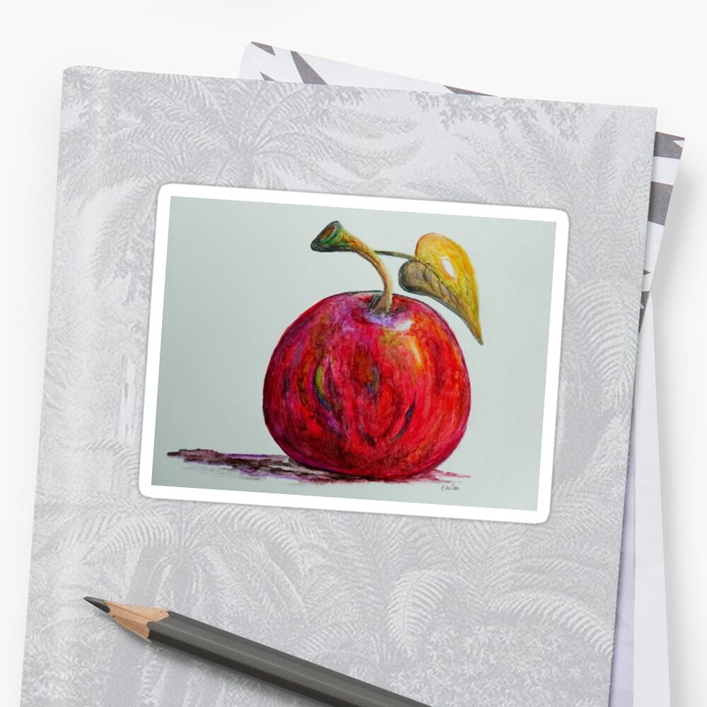 Kaleidoscope Apple or APPLE FOR THE TEACHER by EloiseArt