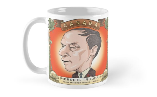 Pierre Trudeau by MacKaycartoons