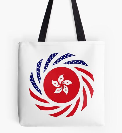 Hong Kong American Multinational Patriot Flag Series Tote Bag