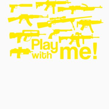 Play with me! - yellow by Skroll