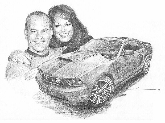 True loves drawing by Mike Theuer