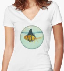 BRILLIANT DISGUISE 03 Women's Fitted V-Neck T-Shirt