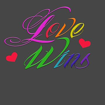 Love Wins by Irrelephante