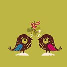 Christmas Love Birds by rusanovska