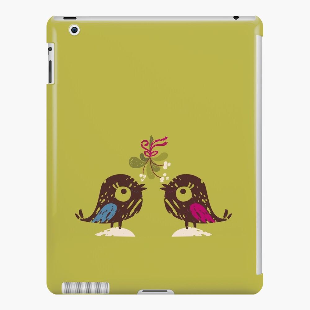 Christmas Love Birds iPad Case & Skin