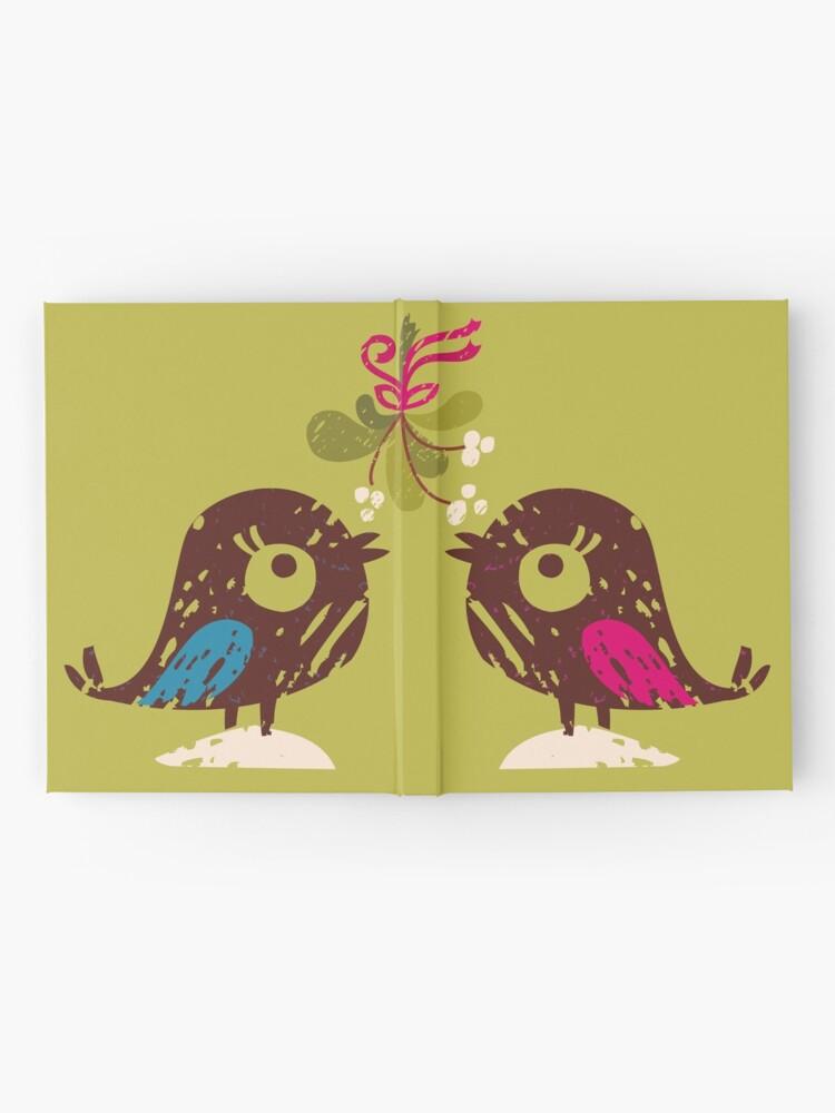 Alternate view of Christmas Love Birds Hardcover Journal