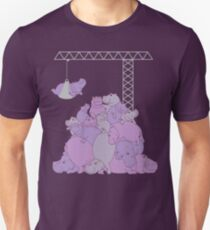 Hippopotapile - The more the merrier! Unisex T-Shirt