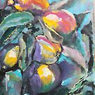 Technicolour apples by christine purtle