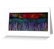 Solstice Sunset Greeting Card